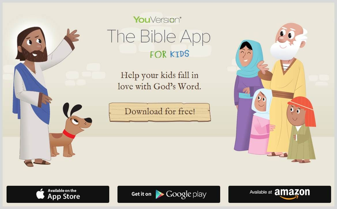 YouVersion Bible App for Kids. Instructional potential, do