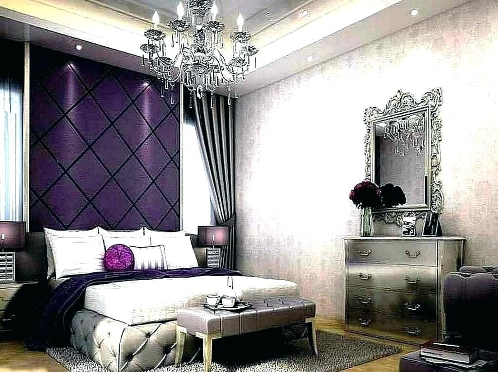 Bedroom Exquisite Purple And Grey Ideas At Gray Thinking This Maybe Brooklyn S Room