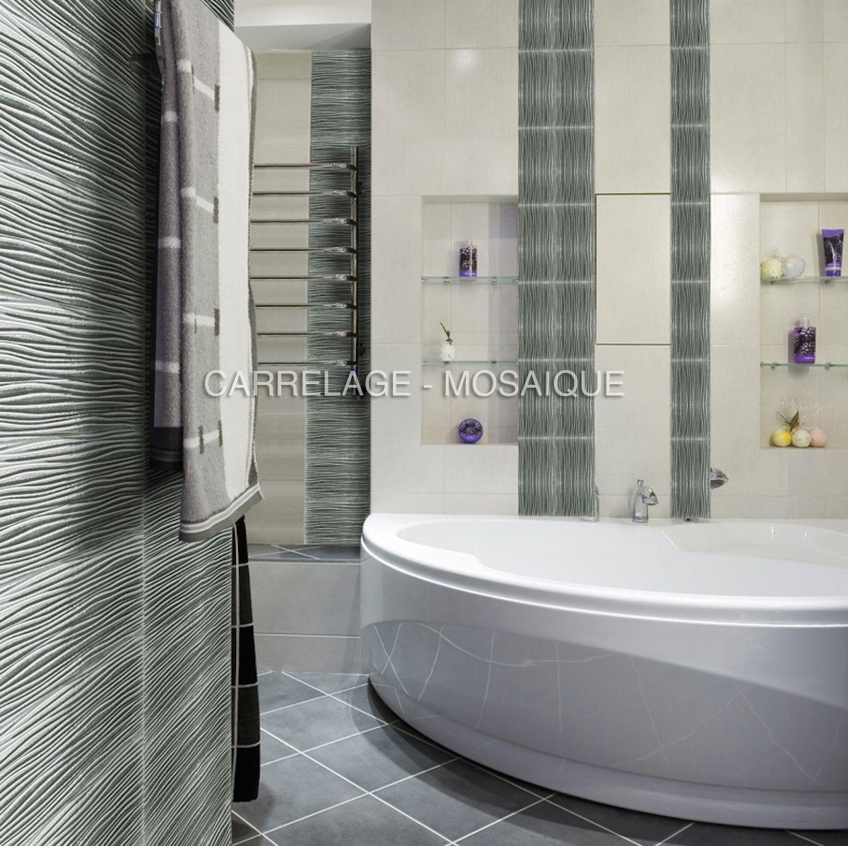 carreaux en verre effet metalise pour mur salle de bain et credence cuisine modele arco argent