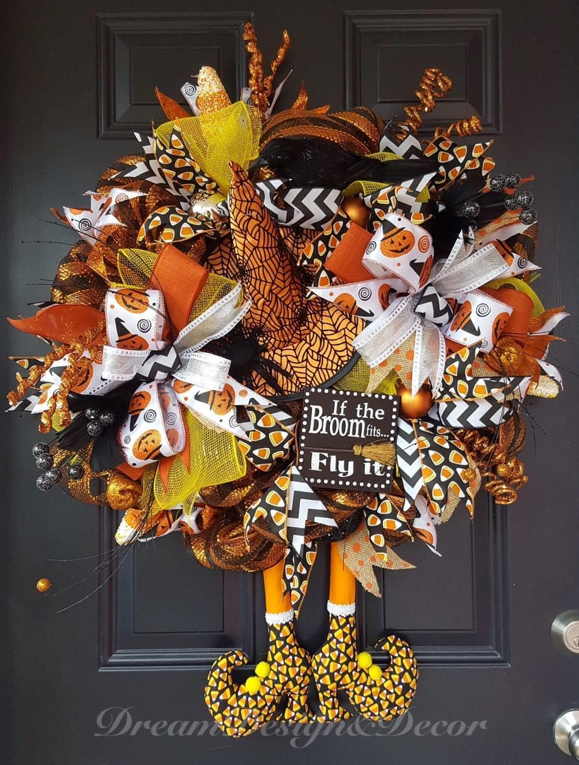 Halloween Wreath For Sale Halloween party guests