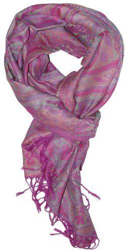 98edbbdfbc1 TOPSELLER! LibbySue-Silk Blend Reversible Paisley Tapestry Pashmina ...