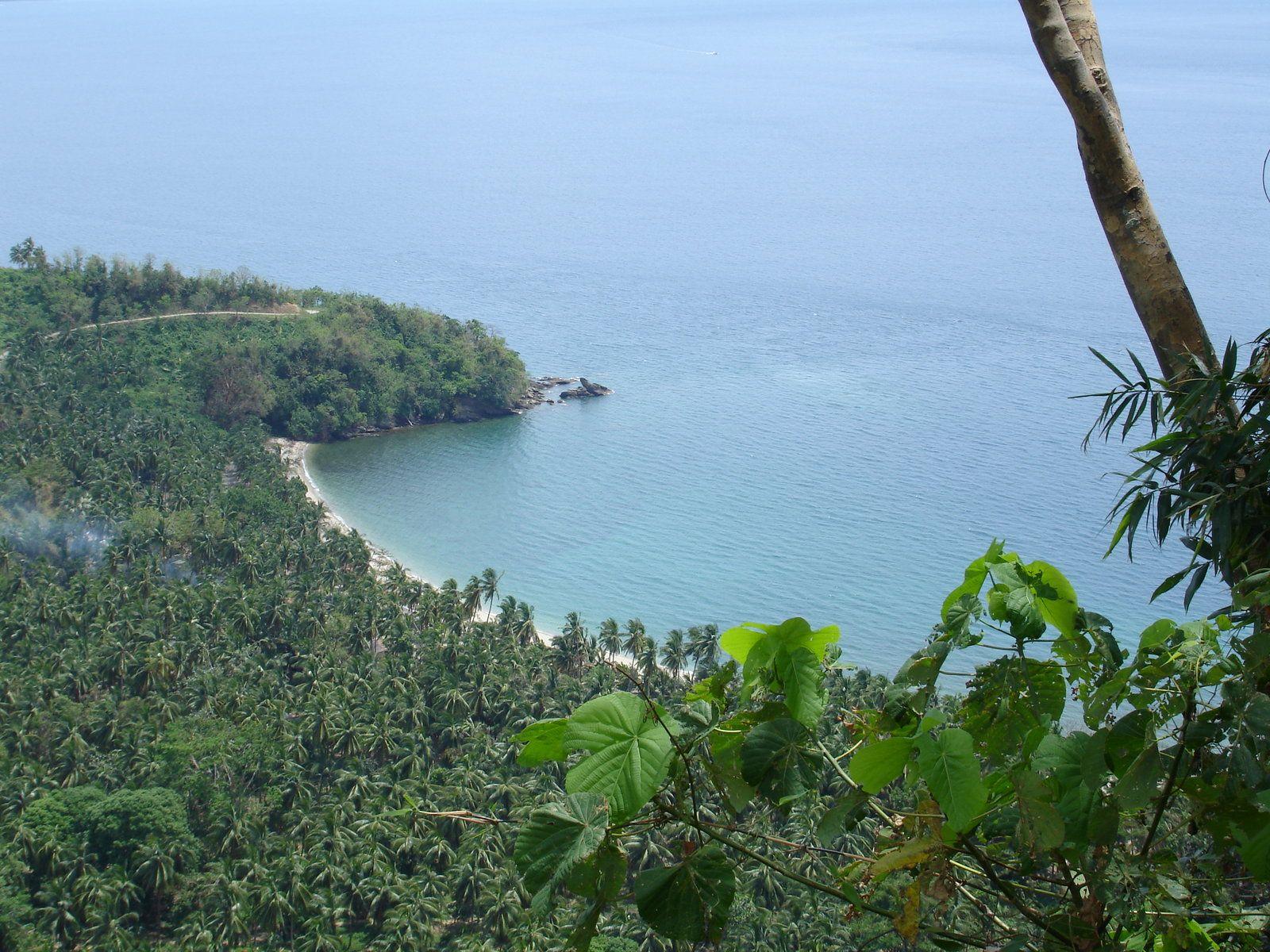 Beautiful ocean views on a paradise island - Mindoro Island, Philippines
