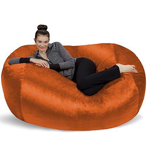 Sofa Sack Bean Bags6 Large Bag Lounger Tangerine S