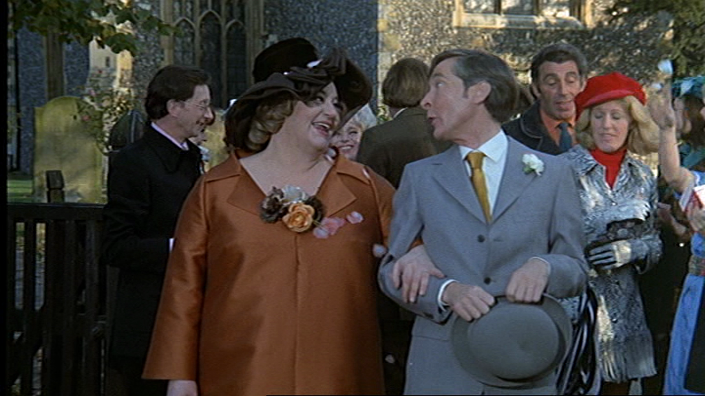 Charles Hawtrey, Hattie Jacques, Barbara Windsor and Kenneth Williams. Carry On Matron. 1972