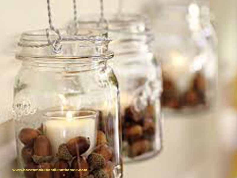 how to make candles in a mason jar