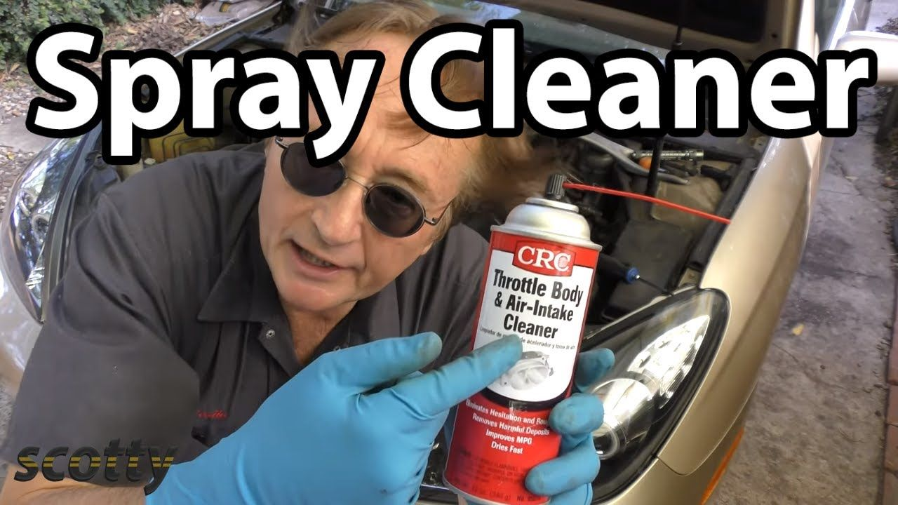 Make Your Car Run Better With A Little Spray Cleaner Car