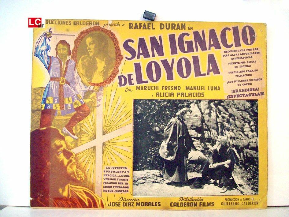 Película De España Del Año 1949 Título San Ignacio De Loyola El Capitán Loyola Il Cavalliere Dela Croce Direct San Ignacio De Loyola Heroico Peliculas