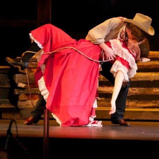 Ado Annie And Will Parker Oklahoma Hello Drama Ideas Oklahoma Jessie Mueller