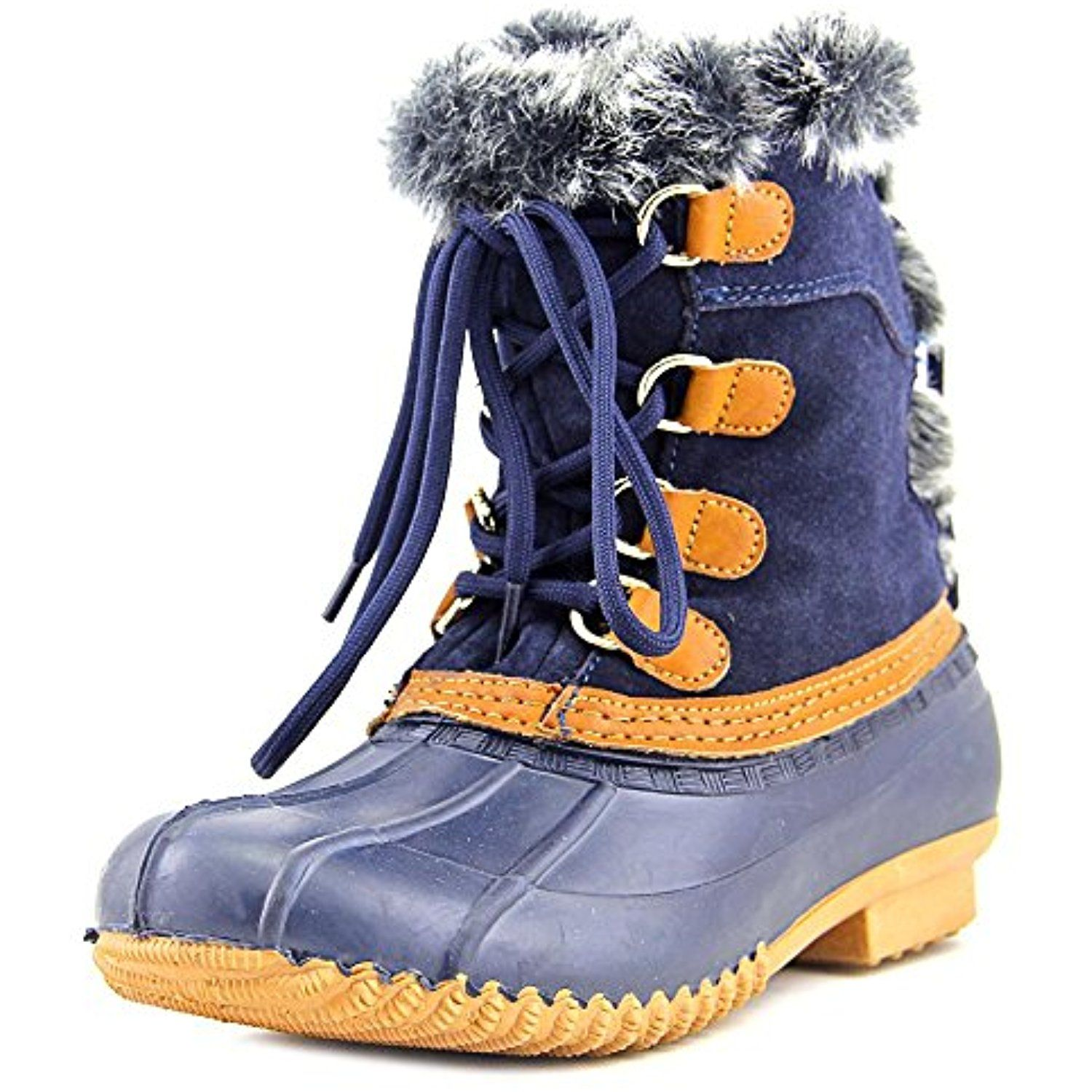 Rellenna Round Toe Suede Winter Boot You Can Find More Details By Visiting The Image Link This Is An Affiliate Li Snow Boots Women Blue Winter Boots Boots