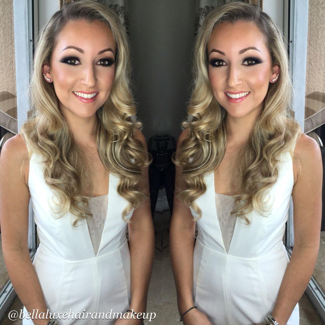 key west wedding hair and makeup done by bella luxe hair