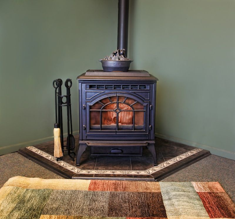 How To Install Pellet Stove Easy Way Stove Installation Wood Stove Hearth Pads Pellet Stove
