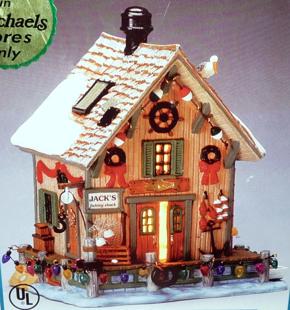 Details about 2003 LEMAX PORCELAIN LIGHTED HOUSE PLYMOUTH