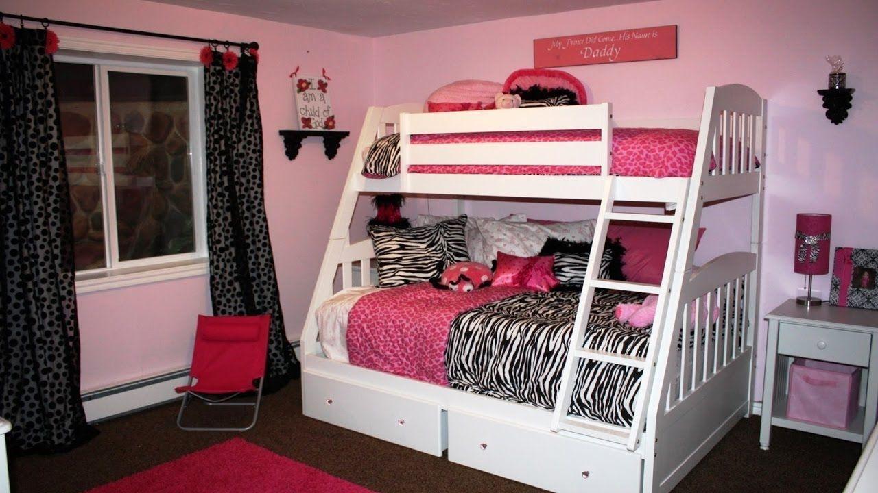 Teenage girl loft bed ideas   Bunk Beds for Teen Girls  Interior Design Bedroom Ideas On A