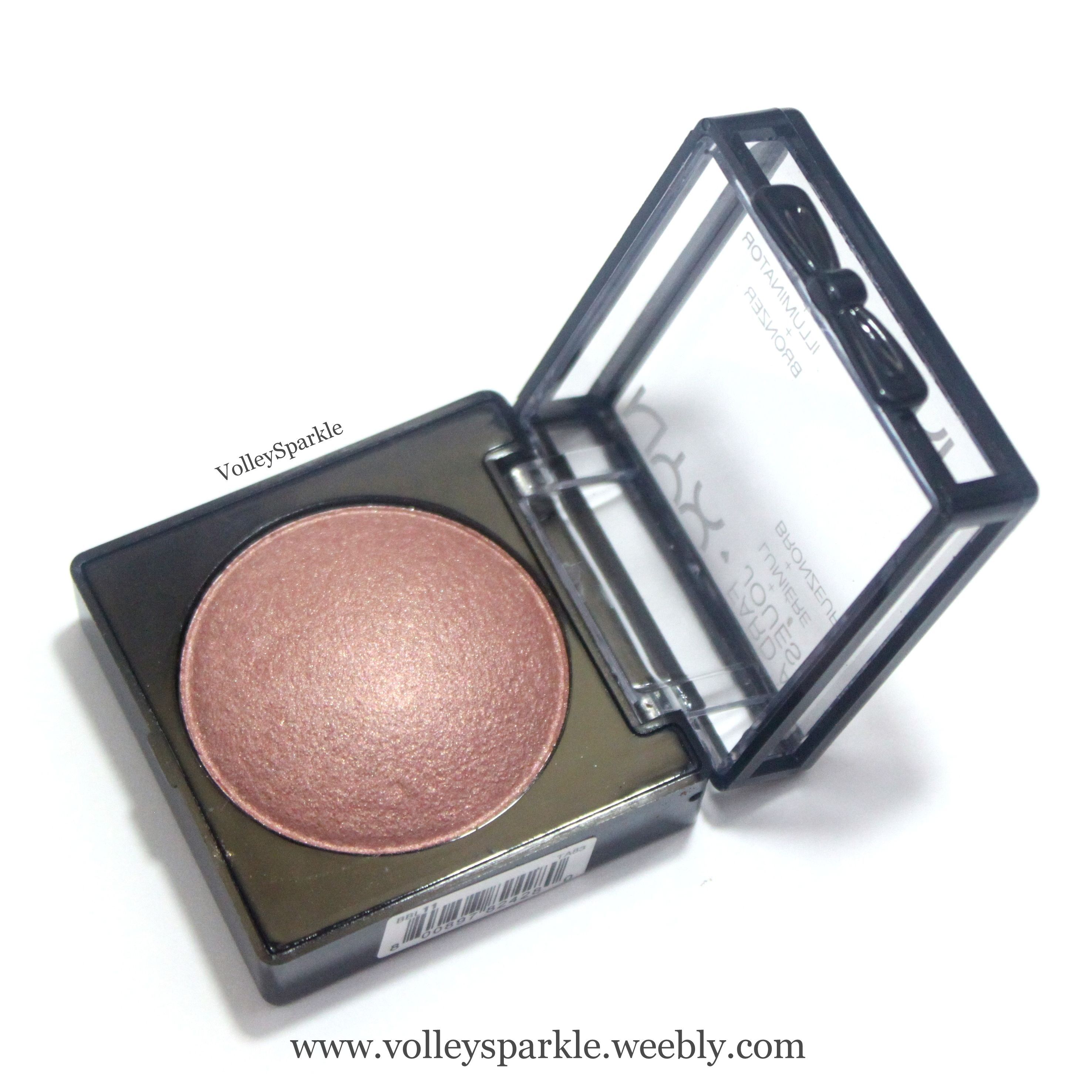 Nyx Chiffon Baked Blush | Review, Photos & Swatches