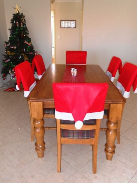 Christmas Chair Covers Pinterest Sure Fit Dining Bed Bath And Beyond 2013 Cover Set Hat Home Decor