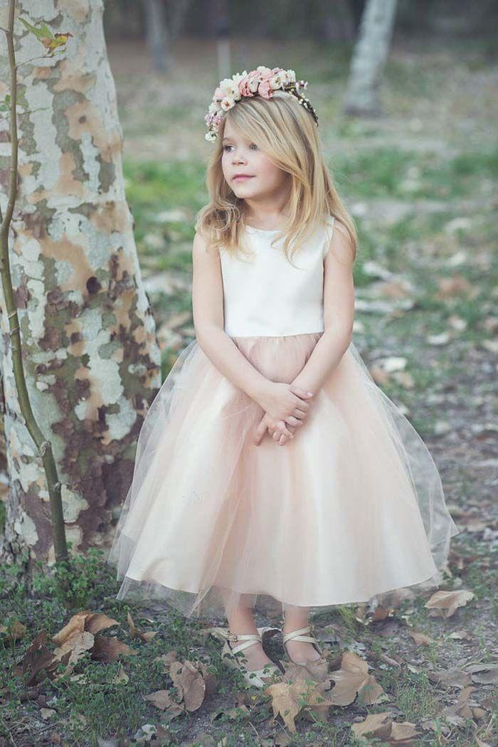 d235232473b 35 Unbelievably Cute Flower Girl Dresses for a Spring Wedding - Modern  Wedding