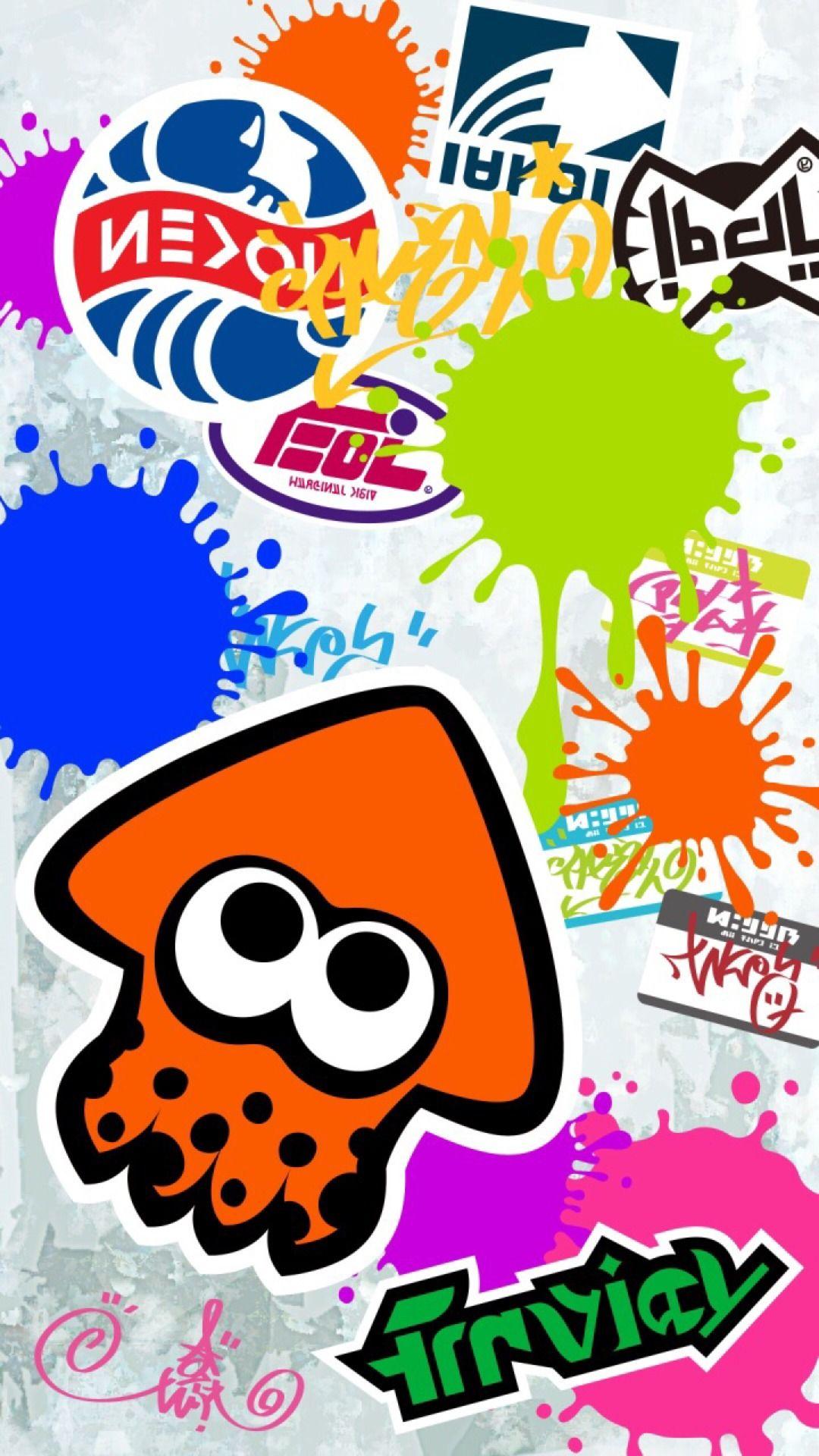 Splatoon Wallpaper D Splatoon Nintendo Splatoon Iphone Wallpaper