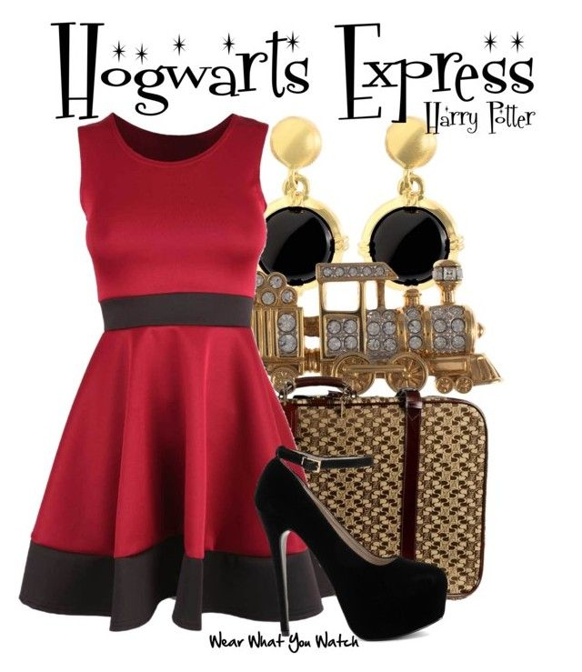 """""""Harry Potter"""" by wearwhatyouwatch ❤ liked on Polyvore featuring Brooks Brothers, Eclectica, I Santi, wearwhatyouwatch and film"""