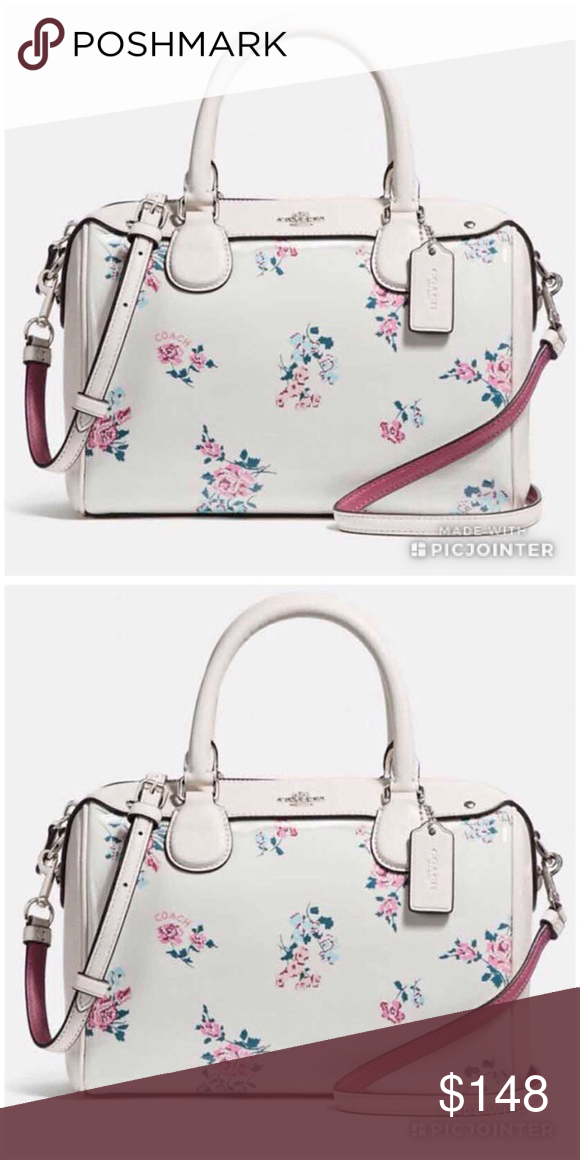 Coach Mini Bennett Floral Print New With Tag Coach Mini Bennett