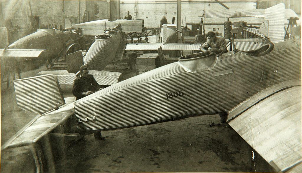 Junkers CL.I (J.10) Factory Air, space museum, Space