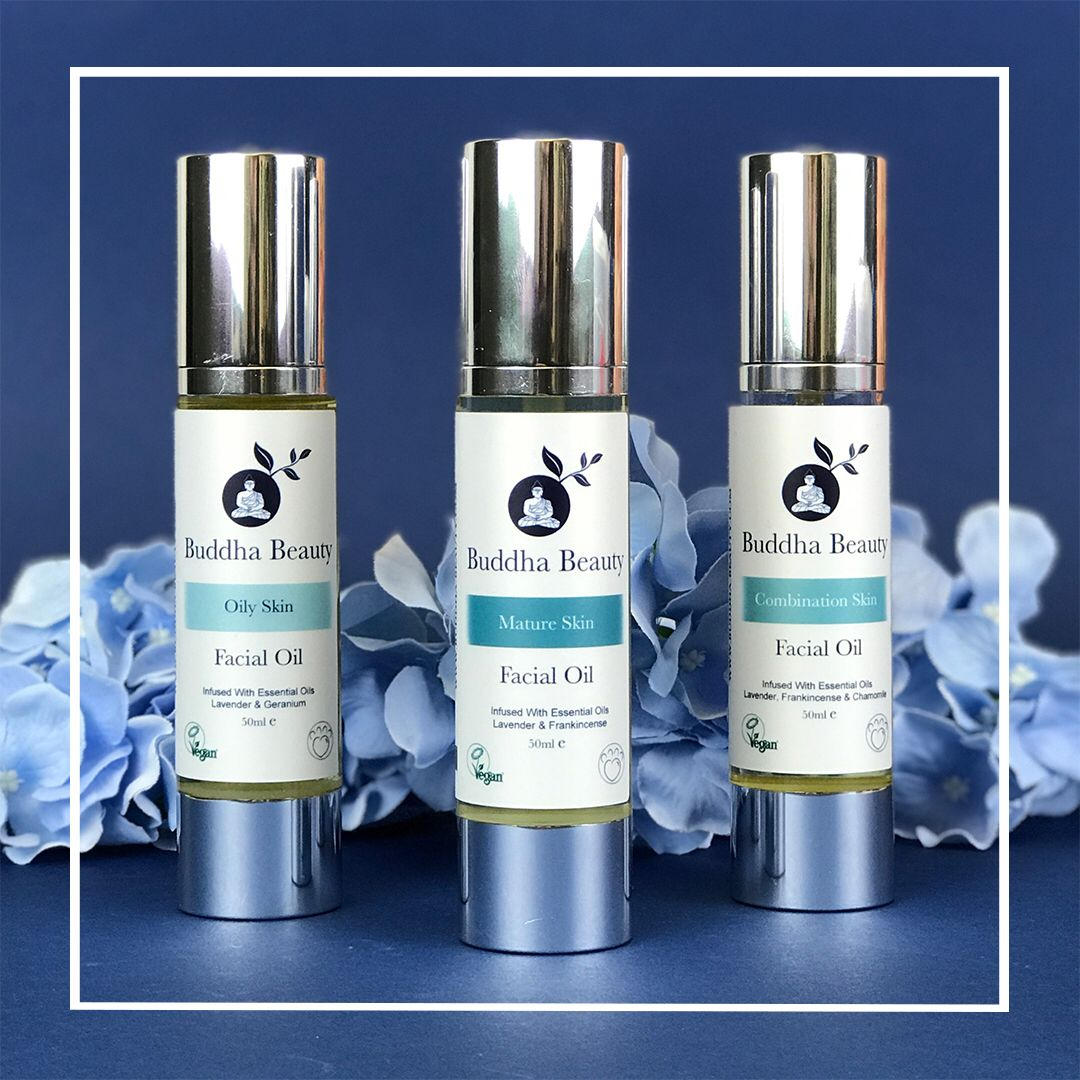 Our facial oils are made with the best products for the