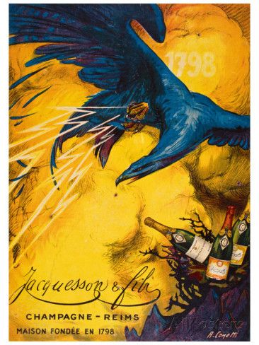 Champagne Jacqueson Giclee Print