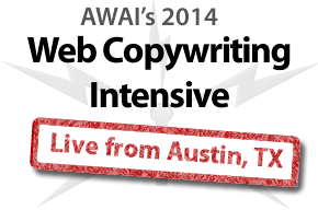 Live from Austin – Real Time Reporting from the #WebCopyIntensive. #webwriting #onlinecopy