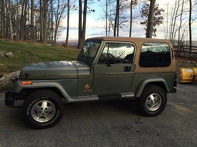 1992 Jeep Wrangler Sahara 1992 Jeep Wrangler Sahara Yj Jeep