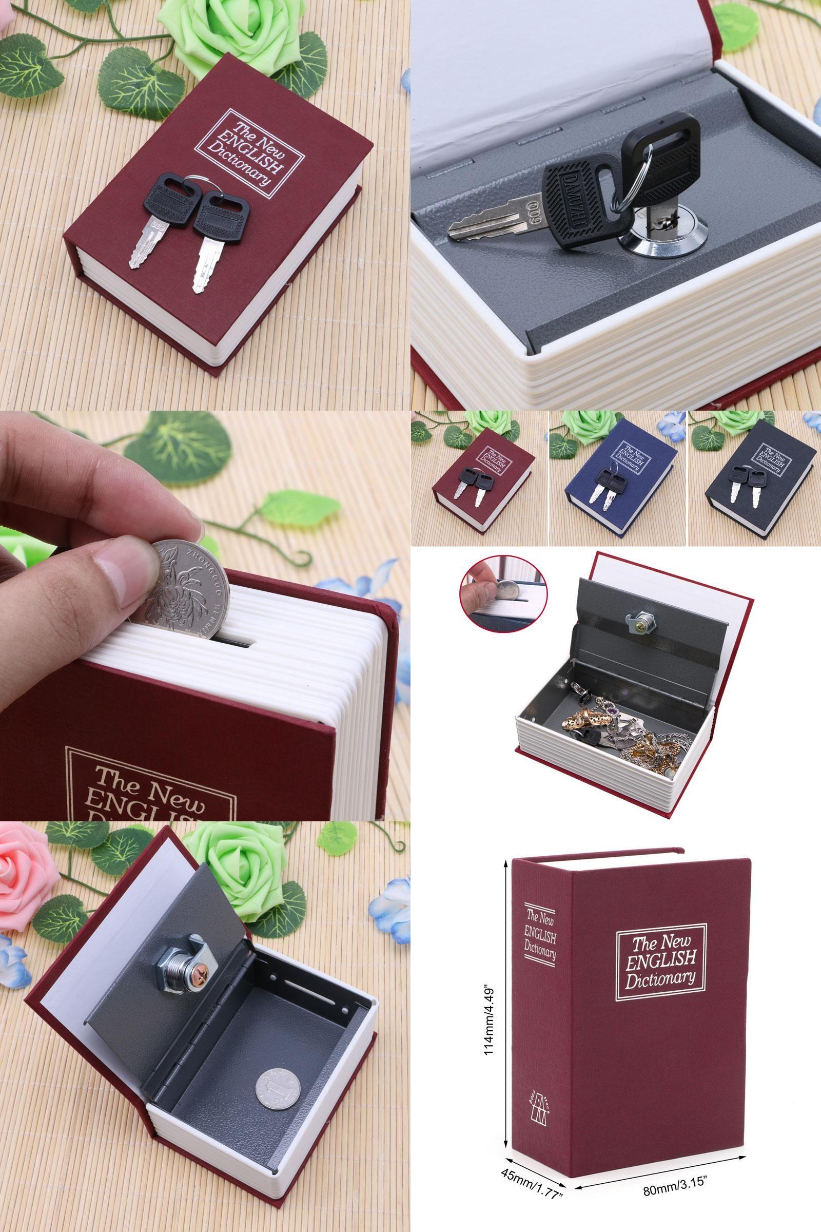 Visit to Buy Mini Storage Box Cash Jewelry Secret Security Case