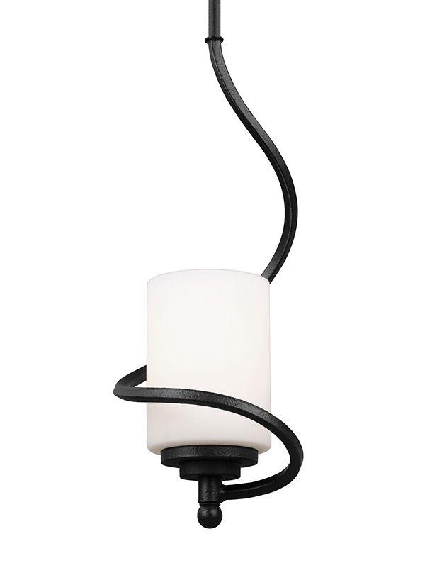 6125201-839,One Light Mini-Pendant,Blacksmith