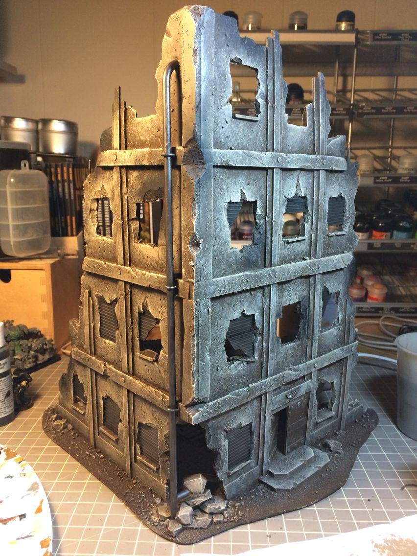 Ruins in progress | Wargaming DIY Terrain | Game terrain