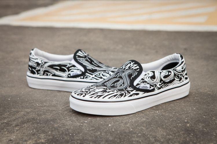 Vans Sk8-HI OG CO-WROTE A DOODLE White Black SJ0190 Skate Shoe For Sale   Vans b0335568c