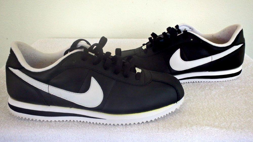 Nike Cortez Men's Leather Medium (D, M) Width Athletic Shoes | eBay