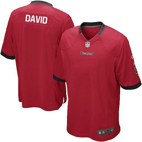 21 black alternate men nike tampa bay buccaneers 54 lavonte david game red team color nfl jersey sal