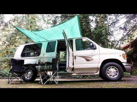 Van Life Custom Van Awning System How To Diy Van Canopy
