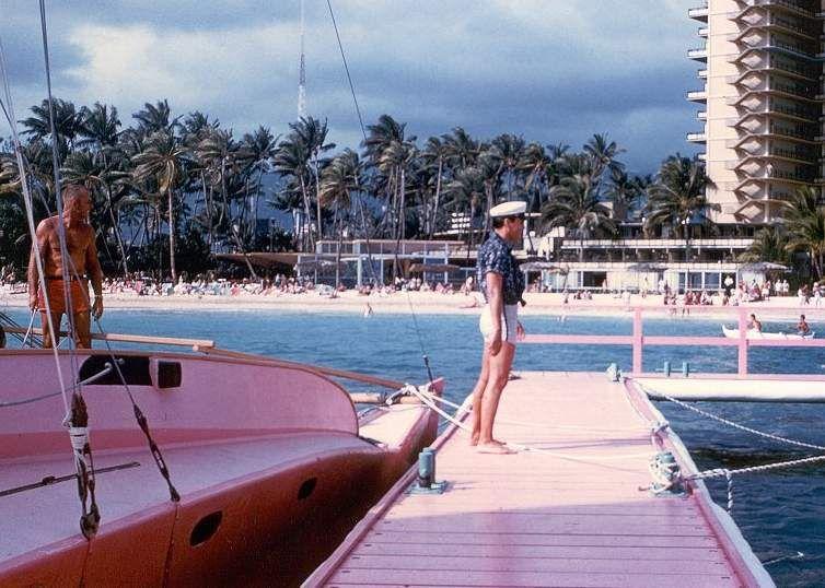 Elvis between takes on the Blue Hawaii set in april 1961.