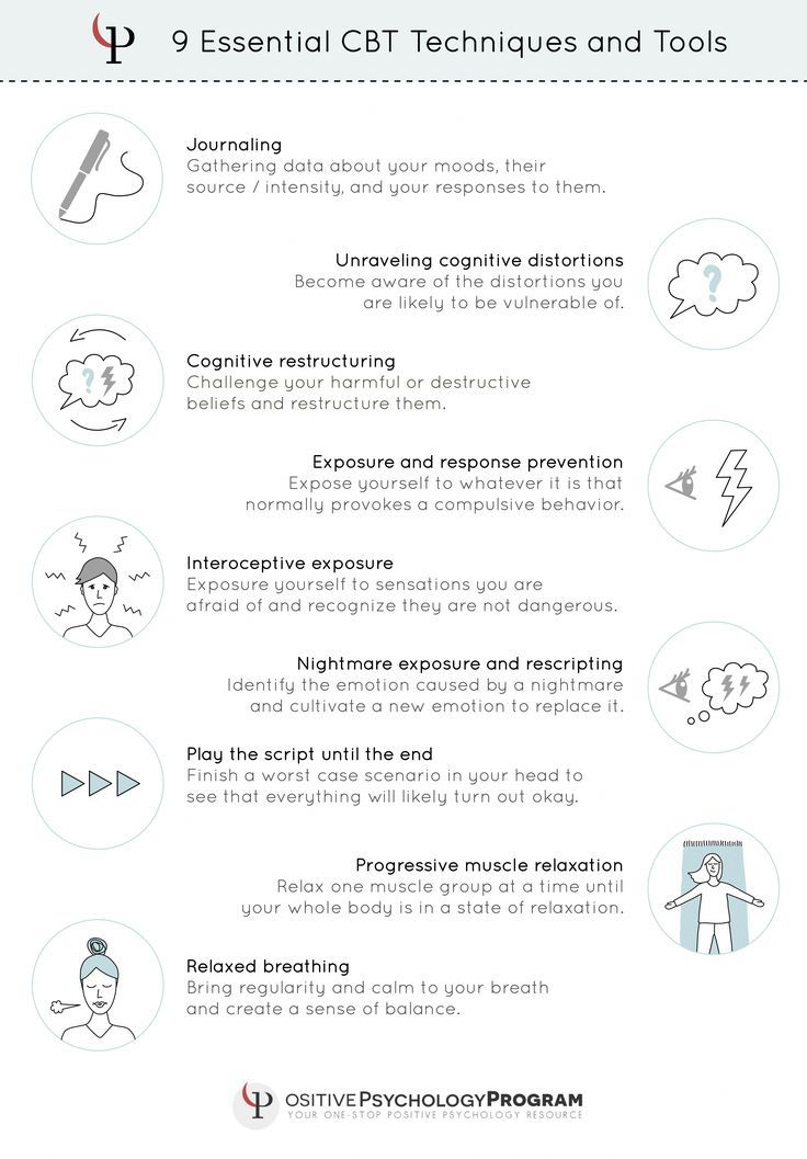 Cbt Techniques And Tools Infographic Therapy Cbt Techniques Cognitive Therapy Cognitive Behavioral Therapy Techniques