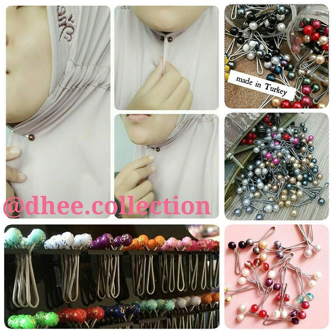 Turkish Hijab Clip Dheecollection Melindungi Jilbab Eksklusifmu