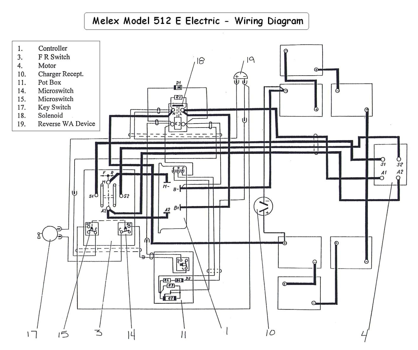 Yamaha Electric Golf Cart Wiring Diagram In 2020