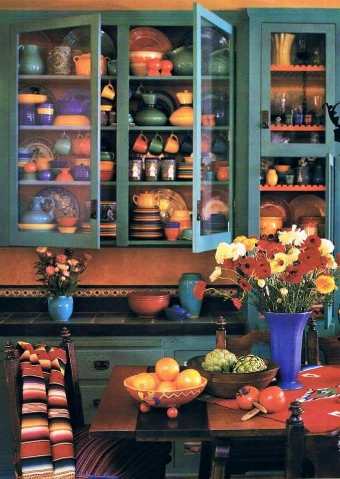 Southwest style kitchen decor