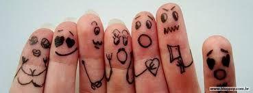 dedos desenhados engraçados - Pesquisa Google
