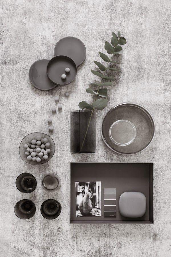 007 vosgesparis Moodboards in grey & white Mood board