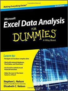 Excel Data Analysis For Dummies Rd Edition Pdf Download EBook