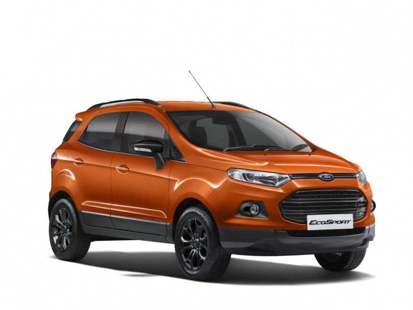 Ford Launches Ecosport Black Edition At Rs 8 58 Lakhs