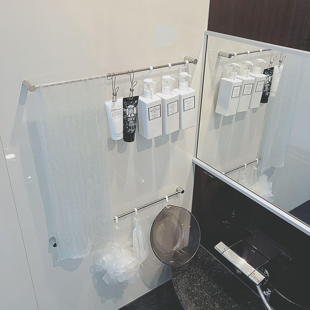普段よく使うものだから 毎回引き出しに収納するのはちょっと面倒 気づいたら 出しっぱなしになっている そんなときは 吊るす収納術 が便利かもしれれません 今回は キッチンやお風呂場 トイレなどいろいろな場所で役立つ吊るす収納法をkufura収納調査隊が