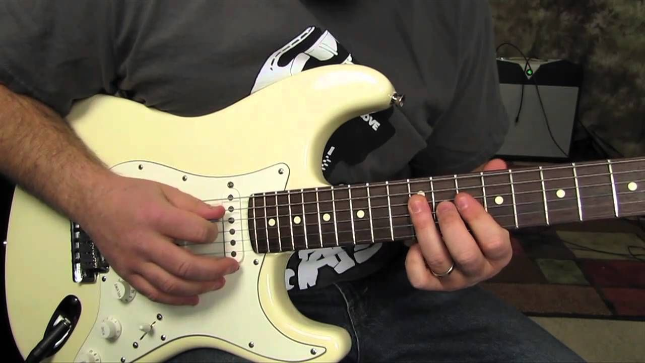 How To Play The Solo From Pink Floyd Another Brick In The Wall Pt
