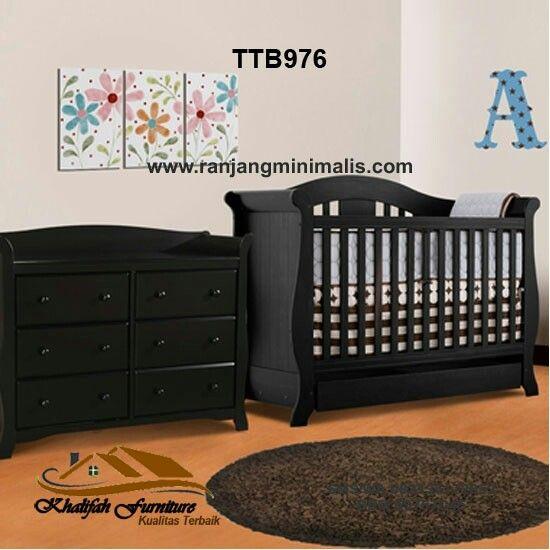 Model Tempat Tidur Bayi