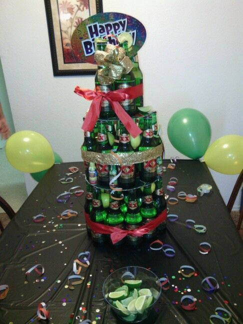 My Dos Xx Beer Cake Jons Bday Party Cakes Cake