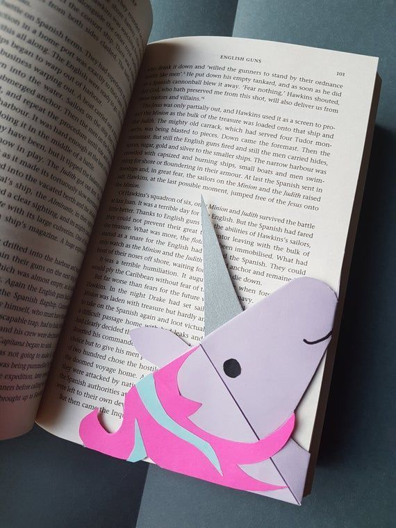 Photo of Unicorn Origami Bookmark – Book Lover Gift, Gift for Kid, Bookmark for Kids, uni…,  #book #…