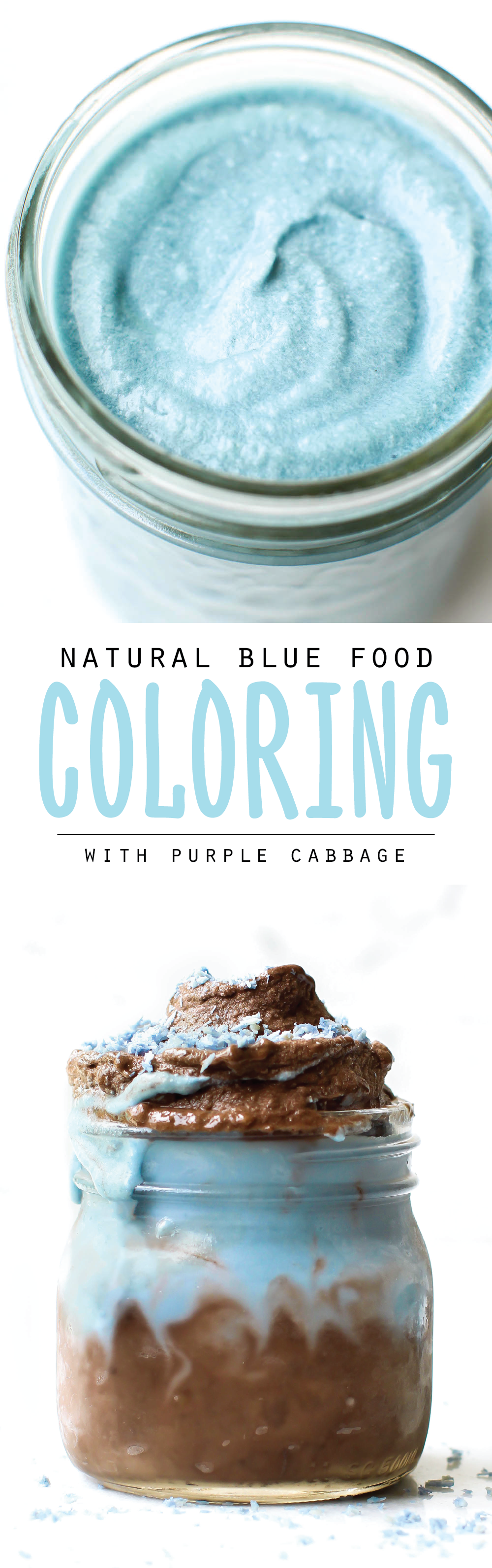 Homemade Natural Blue Food Coloring With Red Cabbage | Dessert and ...